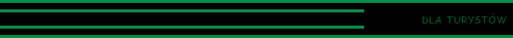 Cztery zielone linie - dla turystów